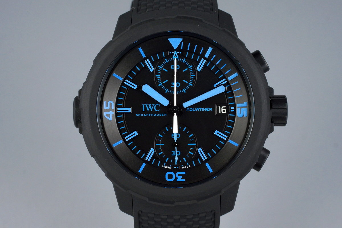2014 IWC Aquatimer Chronograph Edition '50 Years Science for Galapagos' IW379504 with Box and Papers photo, #0