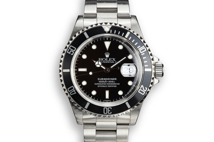 1999 Rolex Submariner 16610 SWISS Only with Papers photo