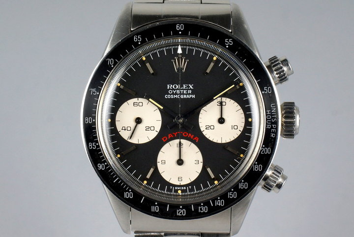 1975 Rolex Daytona 6263 Black Big Red Daytona Dial photo