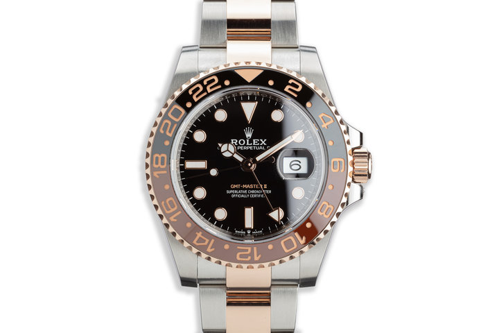 """2018 Rolex GMT-Master II 126711CHNR """"Root Beer"""" with Full Set photo"""