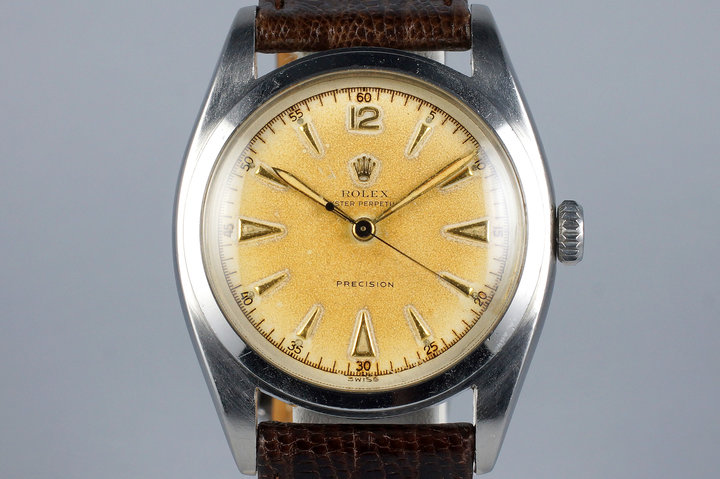 1951 Rolex Oyster Perpetual 6098 Cream Dial photo