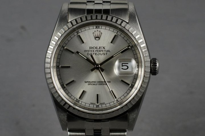 2000 Rolex  Datejust 16220 With Box and Papers photo