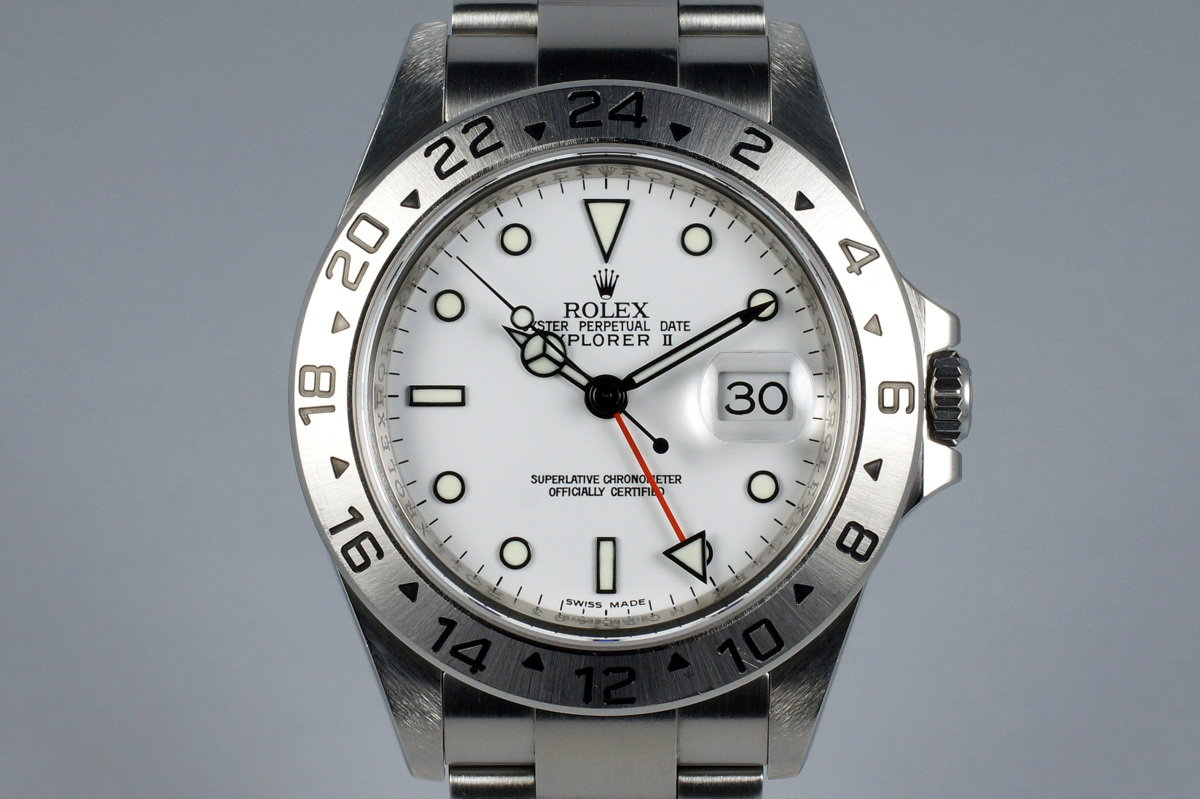 2007 Rolex Explorer II 16570 White Dial photo, #0