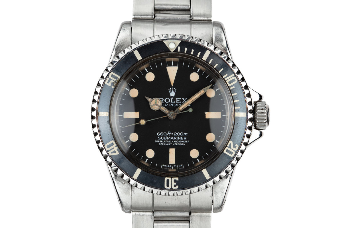 1965 Rolex Submariner 5512 with Newer Mark 1 Maxi 5512 Dial photo, #0
