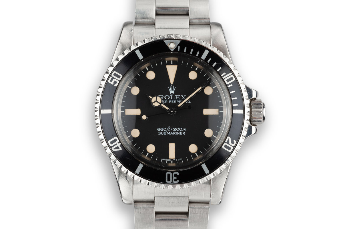 1978 Rolex Submariner 5513 with MK I Maxi Dial photo, #0