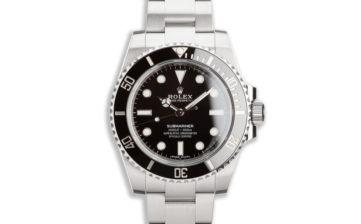 2020 Rolex Submariner 114060 with Box and Card photo, #0