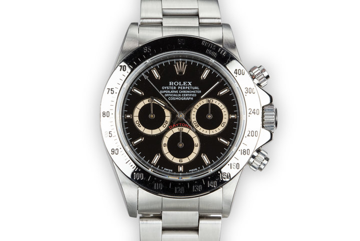 1991 Rolex Zenith Daytona 16520 Black Dial photo