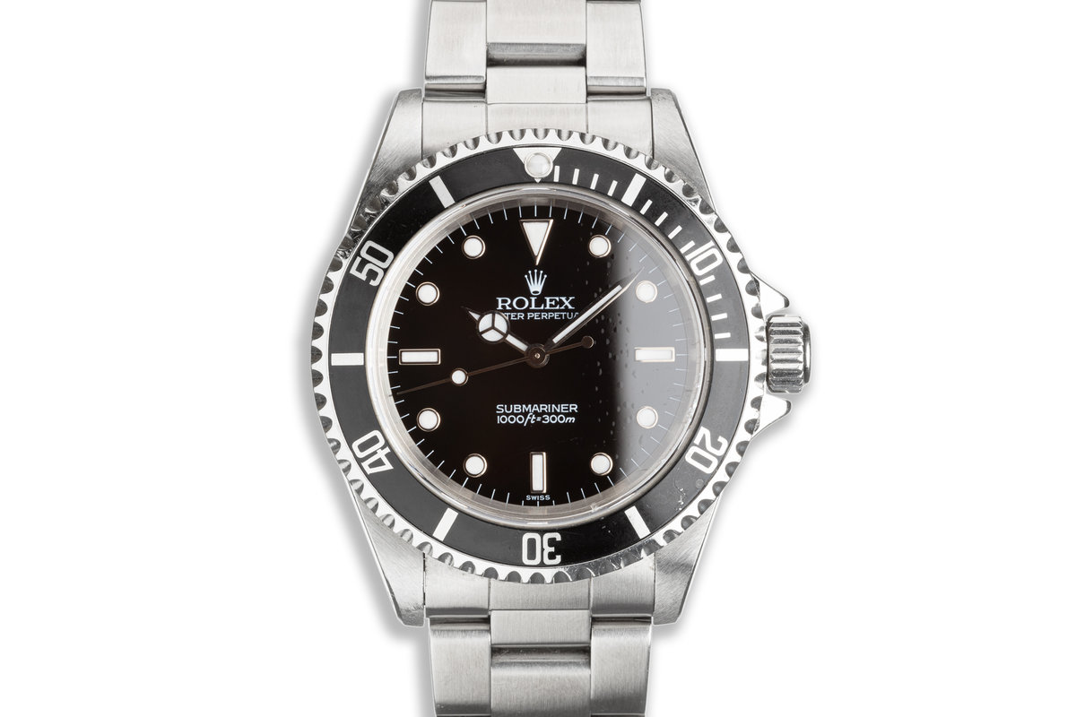 1999 Rolex Submariner 14060 with Box & Papers photo, #0