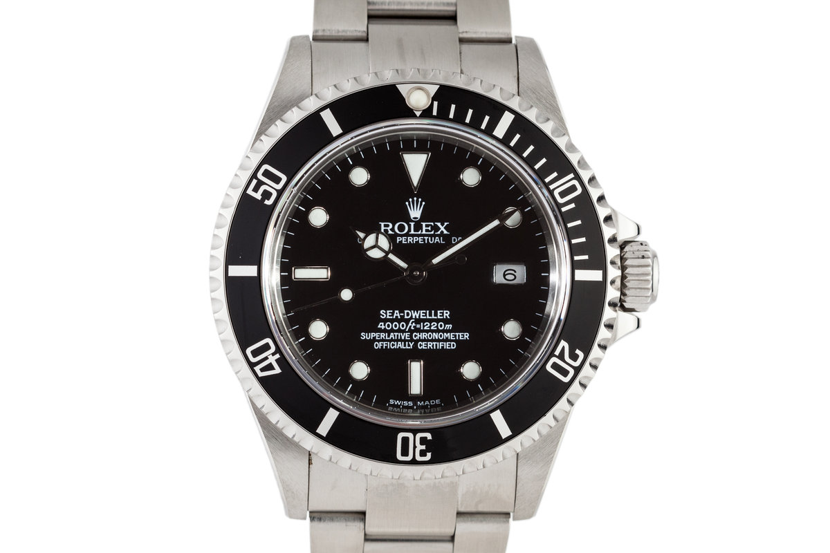 2004 Rolex Sea Dweller 16600 with Box and Papers photo, #0