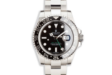 2009 Rolex GMT-Master II116710LN Black Bezel with Box and Card photo