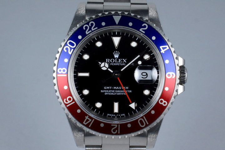 1991 Rolex GMT 16700 with Box and Papers photo