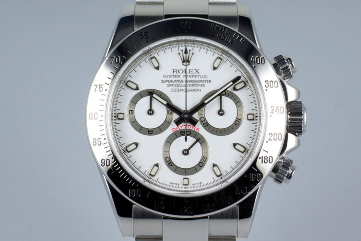 2006 Rolex Daytona 116520 White Dial with Box and Papers photo