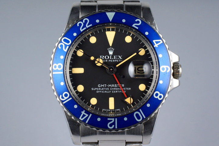 1979 Rolex GMT 1675 Blueberry photo