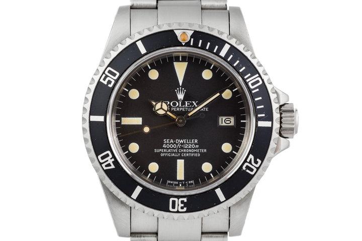 1982 Rolex Sea-Dweller 16660 Matte Dial photo