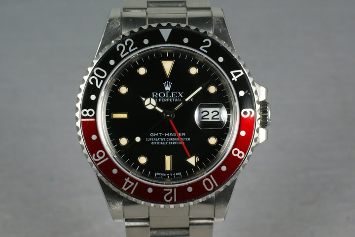 Rolex GMT Master 16700 with box and papers photo
