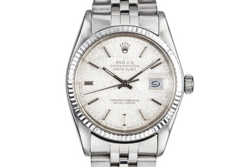 1983 Rolex DateJust 16014 with Linen Dial photo