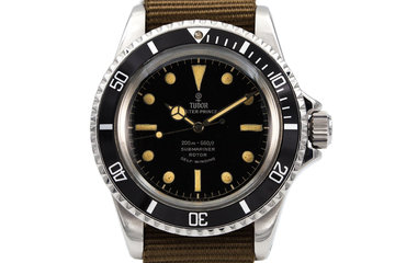 1963 Tudor Submariner 7928 Chapter Ring Dial photo