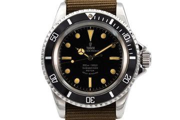 1963 Tudor Submariner 7928 Chapter Ring Dial photo