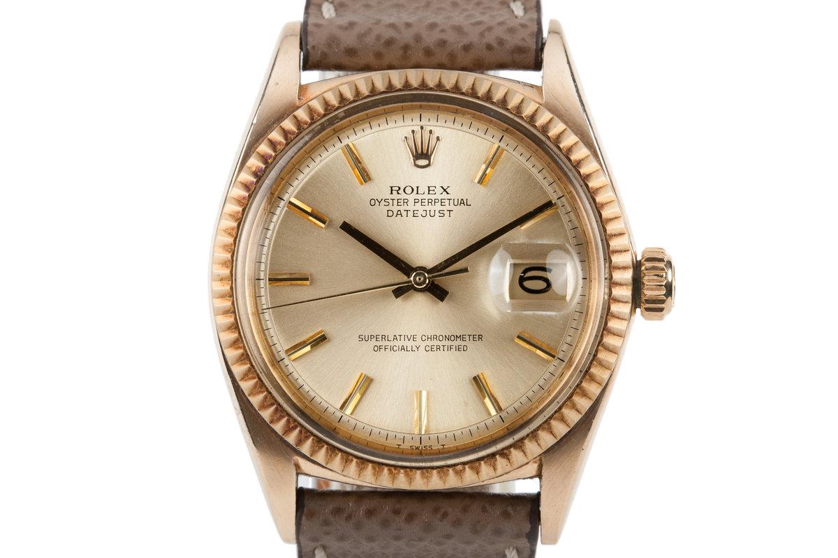 1968 Rolex 18K DateJust 1601 photo, #0