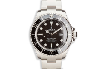 2015 Rolex Sea-Dweller 116600 with Box and Card photo