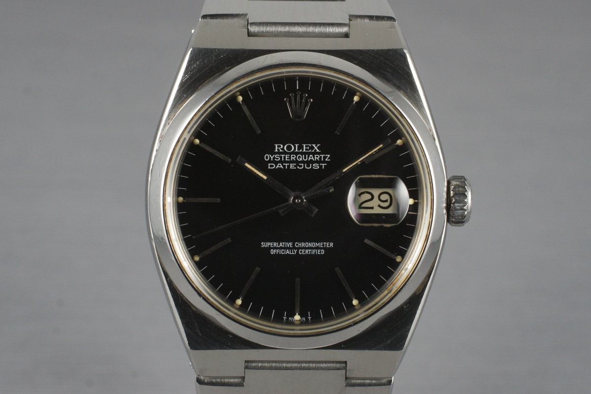 1980 Rolex OysterQuartz Datejust Ref: 17000 photo, #0