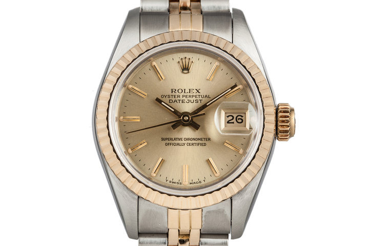 1987 Rolex Ladies Two Tone DateJust 69173 photo