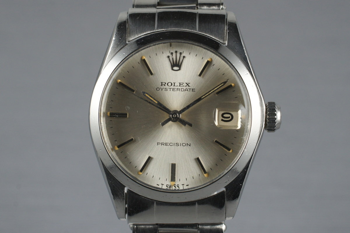 1966 Rolex Midsized OysterDate 6466 Silver Dial photo, #0