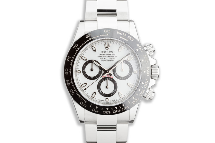 2018 Rolex Daytona 116500LN White Dial with Box and Card photo