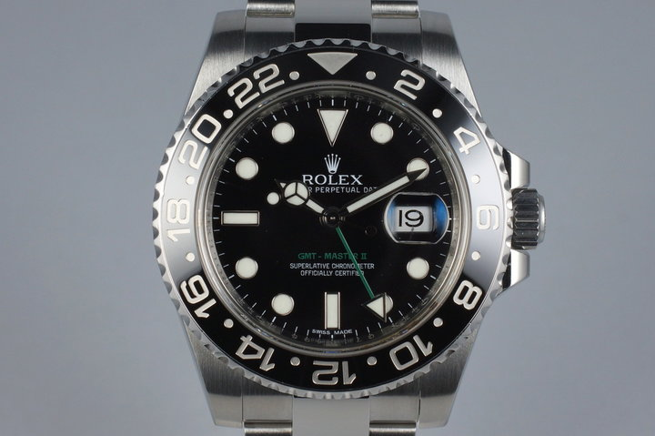 2010 Rolex GMT II 116710 photo