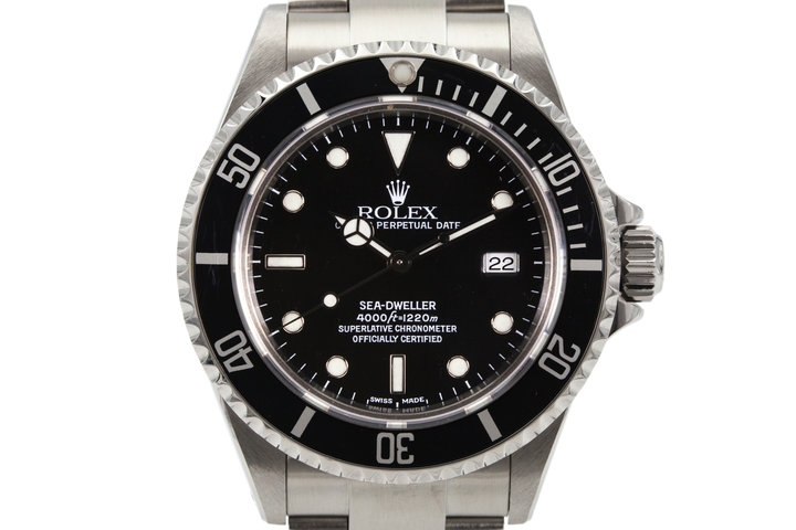 2002 Rolex Sea Dweller 16600 with Box and Papers photo