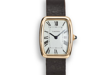 18K Cartier ladies Tonneau 53062 photo