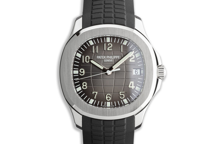 2018 Patek Philippe Aquanaut 5167A-001 with Box and Papers photo