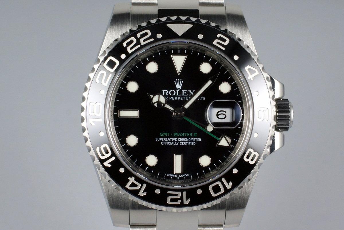 2015 Rolex GMT II 116710LN photo, #0