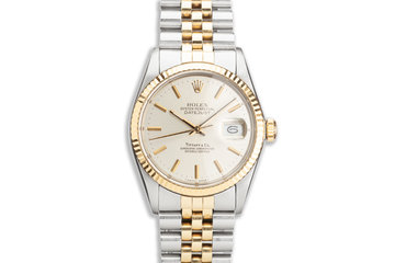 1987 Vintage Rolex Datejust 16013 with Tiffany Dial photo