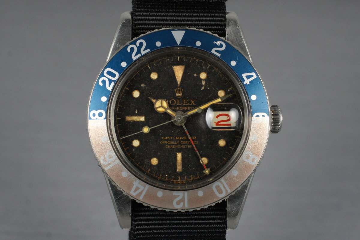 1958 Rolex GMT 6542 with Tropical Dial photo, #0
