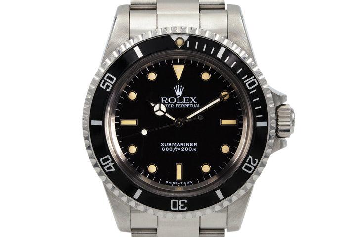 1988 Rolex Submariner 5513 photo