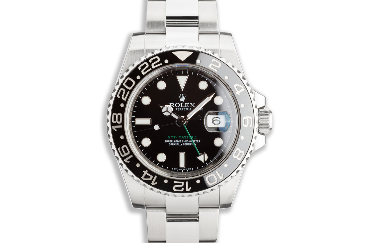 2008 GMT-Master II 116710LN Black Bezel with Box and Card photo, #0