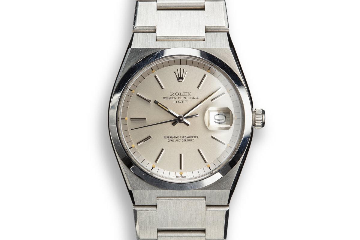 1977 Rolex Date 1530 Silver Dial photo, #0