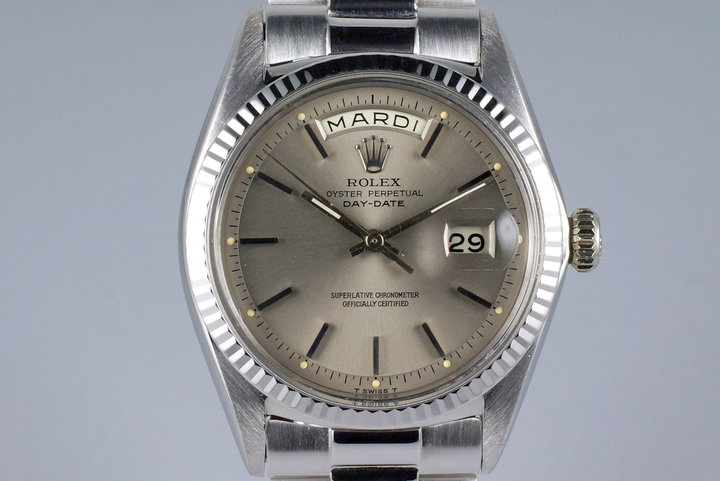1967 Rolex WG Day-Date 1803 Gray Dial photo