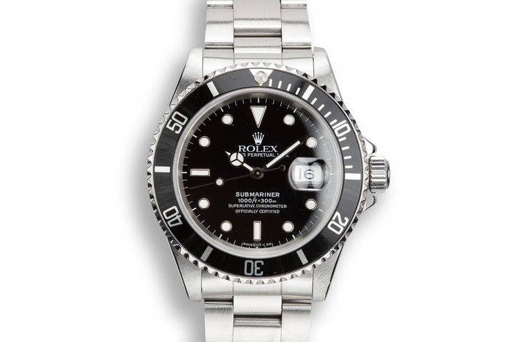 1991 Rolex Submariner 16610 photo