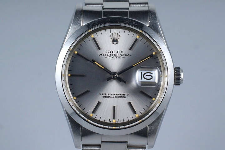 1981 Rolex Date 15000 with Box and Papers photo