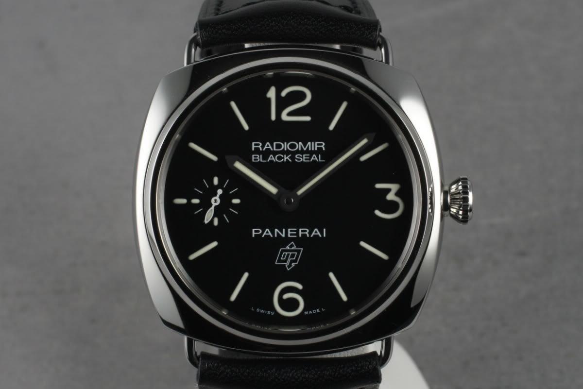 Panerai PAM 380 Radiomir Black Seal photo, #0