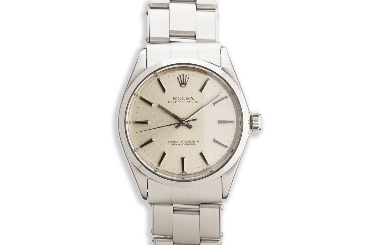 1969 Rolex Oyster Perpetual Silver Dial photo, #0