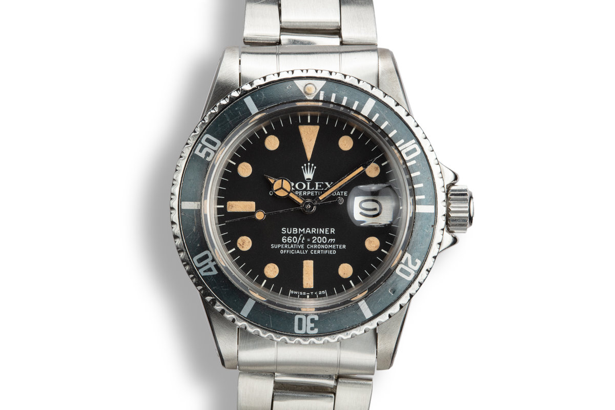 1975 Rolex Submariner 1680 with Mark 1 Dial photo, #0