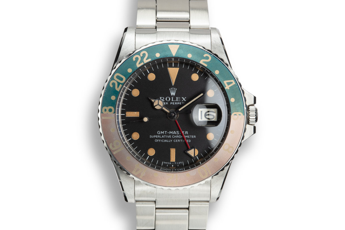 1968 Rolex GMT-Master 1675 with Mark 1 Matte Dial photo, #0