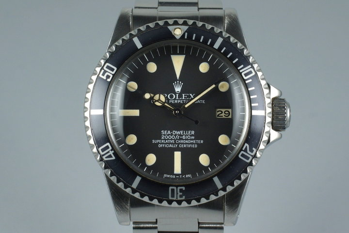 1981 Rolex Sea Dweller 1665 photo