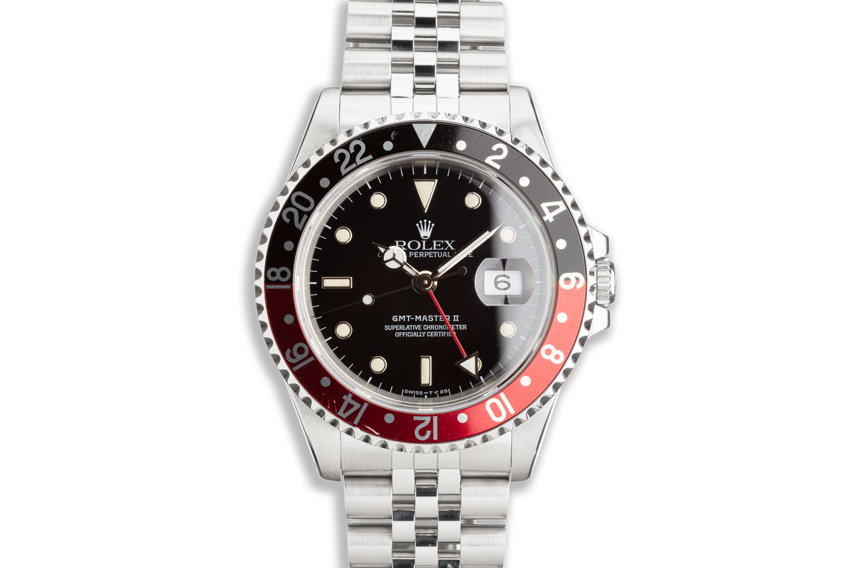"""1991 Rolex GMT-Master II 16710 """"Coke"""" with Box and Papers photo, #0"""