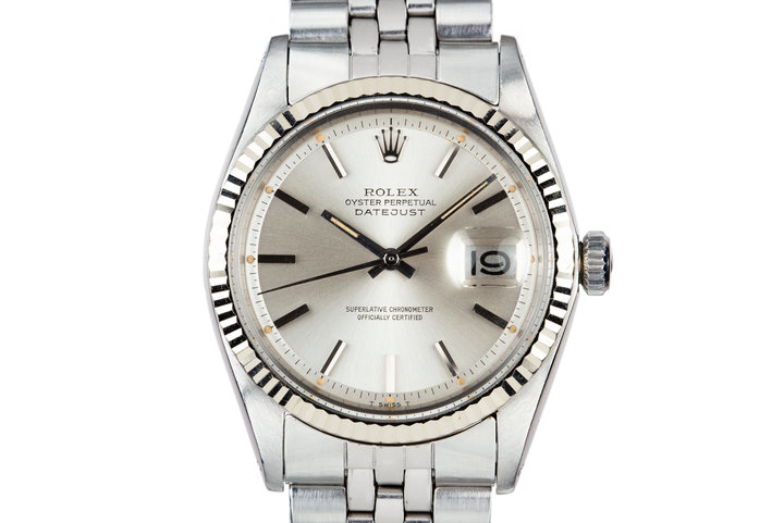 1972 Rolex DateJust 1601 Silver Dial photo