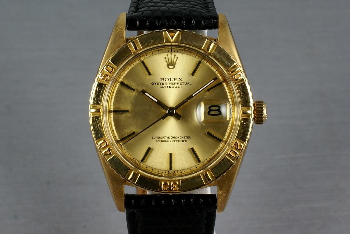 1973 Rolex 18K Gold Datejust 1625 Thunderbird photo, #0