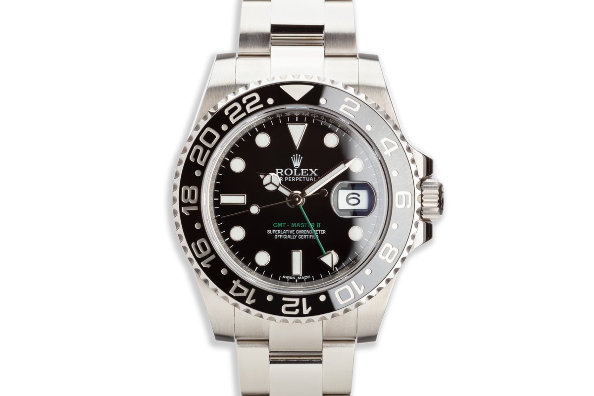 2017 Rolex GMT-Master II116710LN Black Bezel with Box and Card photo, #0
